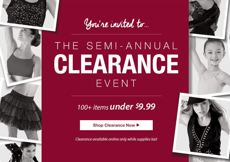 Shop the Semi-Annual Clearance Event
