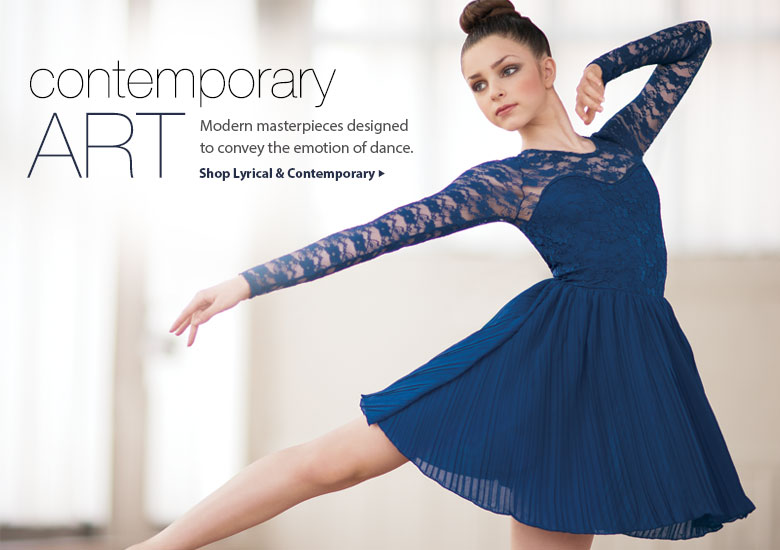 Shop Lyrical & Contemporary Dresses
